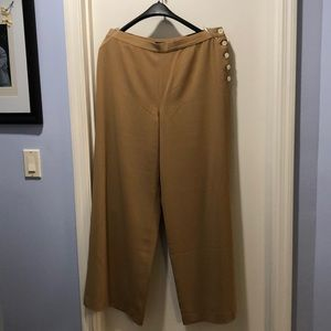 Ralph Lauren side button pants